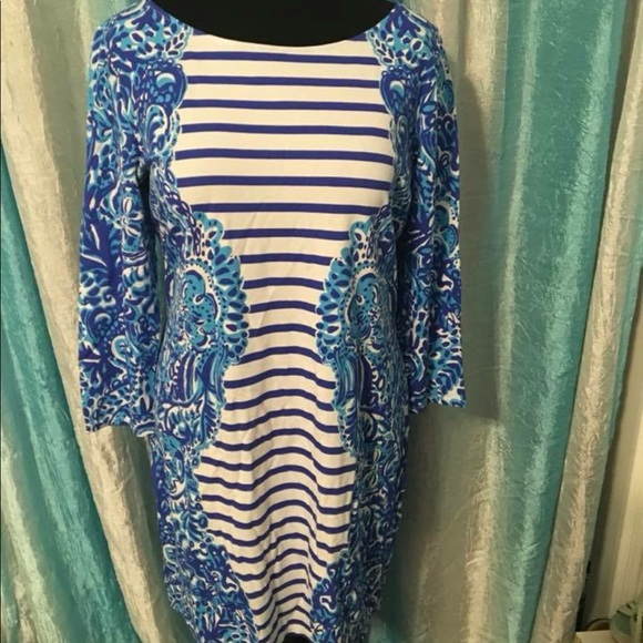 203ad742bf75e8 Lilly Pulitzer Dresses | Nwt Xl Nila Dress Moon Jellies 168 | Poshmark
